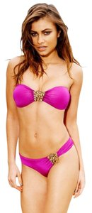 Beach Bunny Beach Bunny Bandeau Top in S Skimpy Bottom in XS