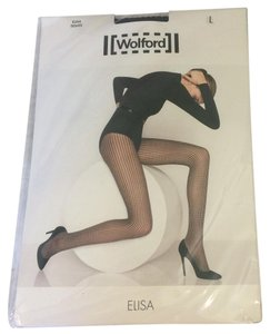 Wolford WOLFORD NWB ELISA TIGHTS BLACK SIZE L