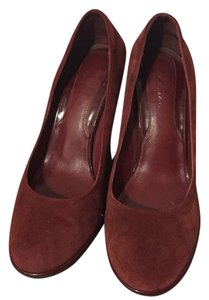 Cole Haan Burnt Red Wedges