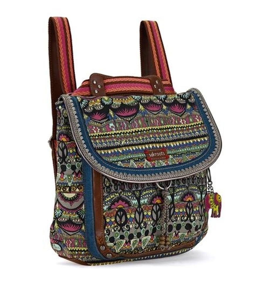 0eb4daf59 Sakroots Charcoal One World Convertable Purse Cross Body Gray Multi ...