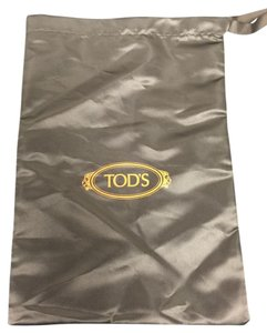 Tod's Tod's Brown Dust Bag with Orange logo