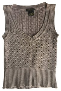 Louis Vuitton Cashmere Knit Top Gray-Lavender