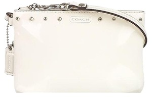 Coach COACH F50729 STUDDED BLACK LIQUID GLOSS WRISTLET New with tags