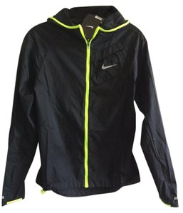 Nike Lightweight Technical Black/Volt trim Jacket