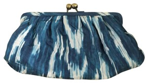 Chico's Blue Clutch