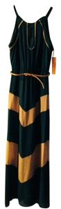 Teal Blue Maxi Dress by Takara