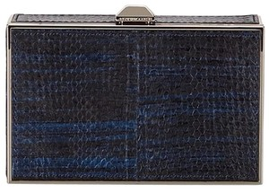 Rebecca Minkoff Hard Case BLUE Clutch