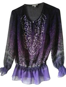 Fashion Bug Top Purple