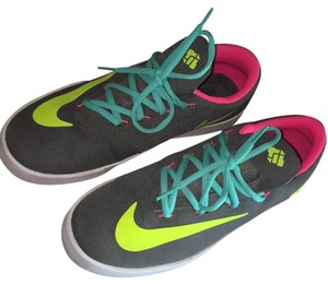 Nike Canvas K.D.'s Grey w/ neon green and pink Athletic