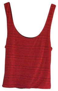 Sparkle & Fade Top Red and black