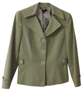 Tahari Soft Lime Green Blazer