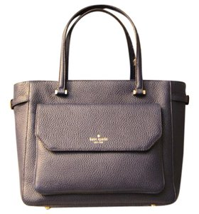 Kate Spade Alanna French Tote in Navy Blue