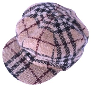 Burberry EXCELLENT WOOL PLAID BURBERRY HAT. RARE FIND. SIZE M