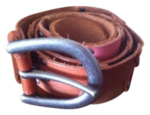 Fossil FOSSIL Color Block Leather Belt
