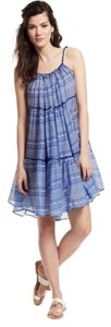 Carolina K short dress Blue/White Versatility Midi on Tradesy