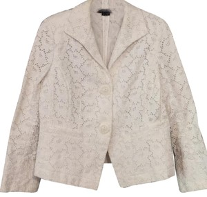 Lafayette 148 New York Crisp & Bright White Blazer