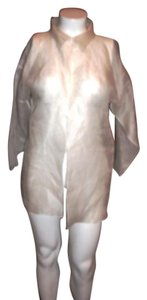 Zoran Silk Top WHITE
