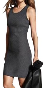 Athleta short dress Charcoal Gray Knee Length on Tradesy