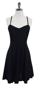 Byblos short dress Black Spaghetti Strap on Tradesy