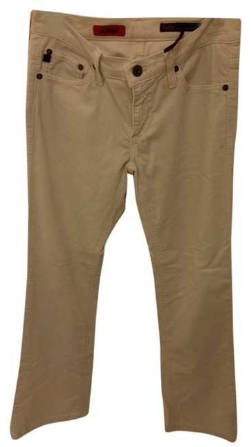 AG Adriano Goldschmied Skinny Pants Ivory