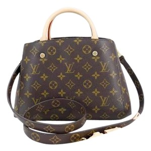 Louis Vuitton Lv Montaigne Bb Satchel in monogram