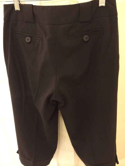 White House | Black Market Capri/Cropped Pants Black