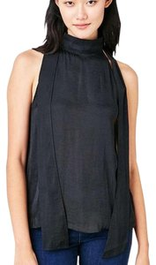 Alice & Ginette Black Halter Top