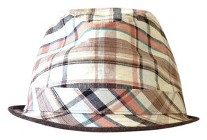 Zara ZARA MAN/UNI-SEX Brown Plaid Hat
