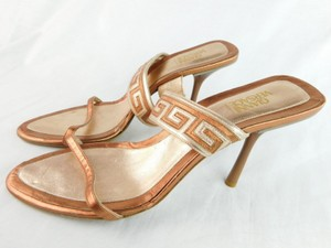 Versace Bronze Pumps