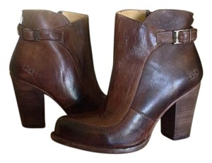 Bed|Stü Isla Leather Ankle Teak Boots