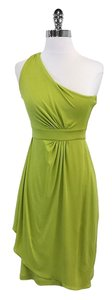 Diane von Furstenberg short dress Lime Silk One on Tradesy