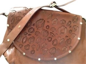 Rebecca Minkoff Studded Along Edge Of Laser Cut Flap & Strap--rocker Edge With Boho Feel Shoulder Bag