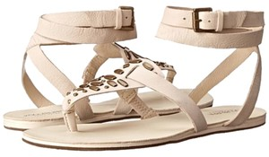 Koolaburra Comfortable Leather Stone Sandals