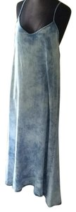 Denim Maxi Dress by Gap Maxi Long