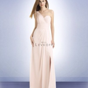 Bill Levkoff Petal Pink Petal Pink Bridesmaid Dress Dress