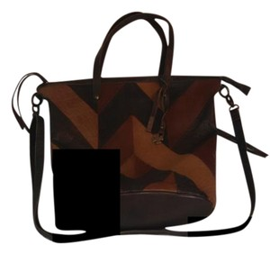 Lucky Brand Piece Train Tote in Brown