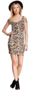 Free People short dress Mocha on Tradesy