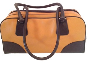 Prada Leather Bowler Shoulder Bag