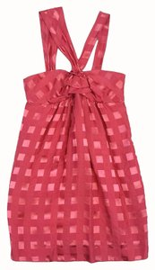 Marc by Marc Jacobs short dress Pink Criss Cross Neck on Tradesy