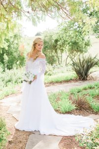 Demetrios 9550 Wedding Dress