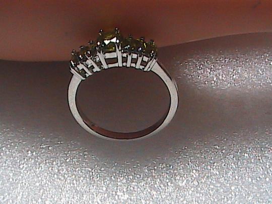 Unknown Sterling Silver Peridot Ring