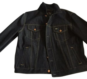 A|X Armani Exchange Womens Jean Jacket
