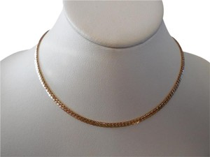 Avon Gold Tone Chain Necklace