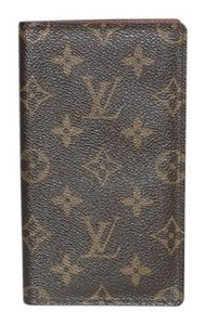 Louis Vuitton Authentic Louis Vuitton Credit Card/check Book Men's Wallet