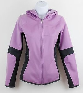 Nike Nike Therma-fit Lavender Charcoal Hooded Zip-up Jacket B85