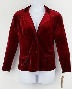 Notations Mvtj0125 Red Velvet Jacket