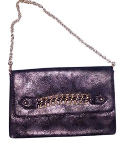 Guess Chain Gold Party Sparkle black Clutch