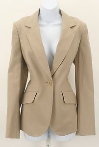 Ellen Tracy Ellen Tracy Tan Ls One Button Womens Blazer B330
