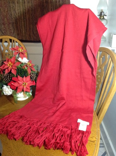 Gucci Authentic Gucci Large Red Scarf