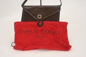 Charles Jourdan Gold Cross Body Bag
